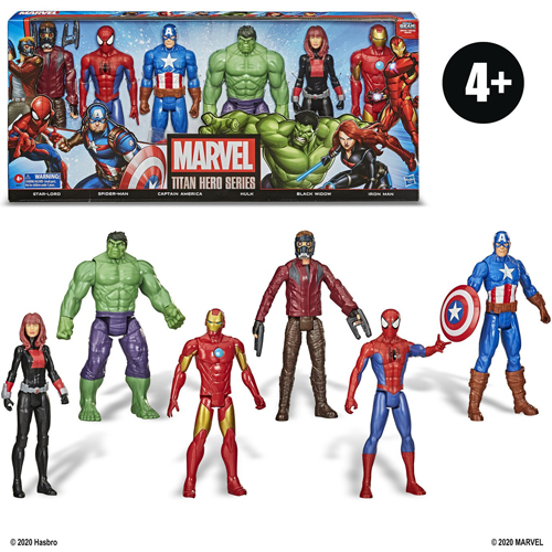Marvel Universe Titan Hero Series Figure 6-Pack