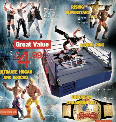 WWE figurines